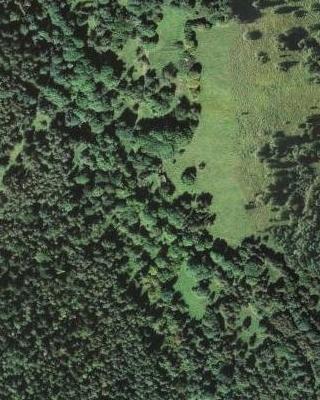 Otec byl rodem ze zaniklých Míšňan, jak je tu zachytily letecké snímky z let 1947 a 2008