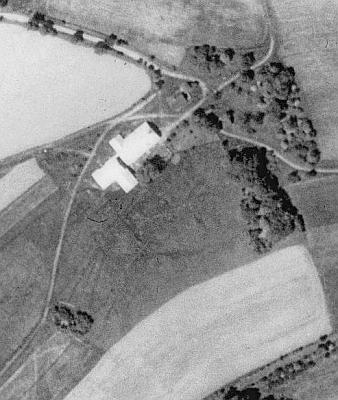 Velký Babylon na leteckých snímcích z let 1950 a 2008