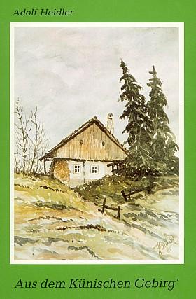 Obálka (1982) se šumavským motivem malíře Heinze Steindla (Hoam!-Verlag, Waldkirchen)