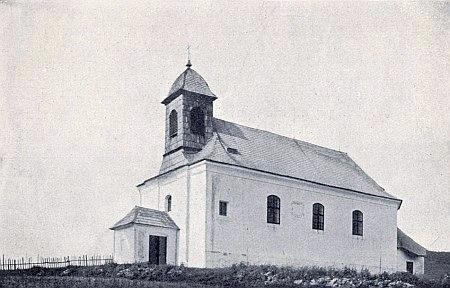 Kostel sv. Martina v Novém Světě...