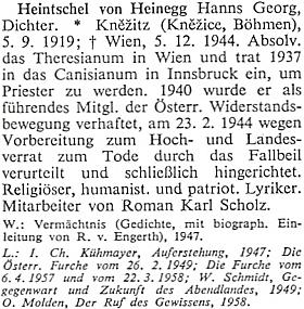 Jeho heslo v rakouském biografickém slovníku
