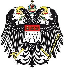 Znak Heinova rodného Kolína nad Rýnem