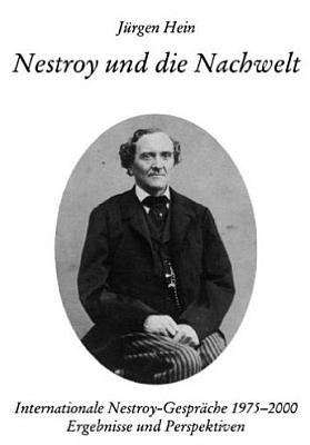 Obálka (2000) paperbackového vydání jeho titulu oNestroyovi