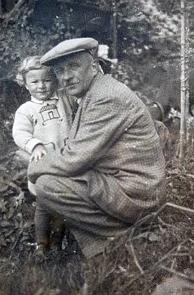 V Arnoštově s malým Willy Bauerem