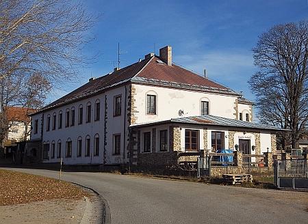 Hostinec Liebl-Pankraz v Arnoštově, kde pracoval