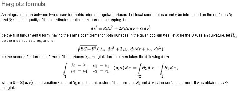 Jeho věta v matematické encyklopedii