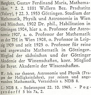 Heslo o něm v biografickém slovníku k dějinám českých zemí