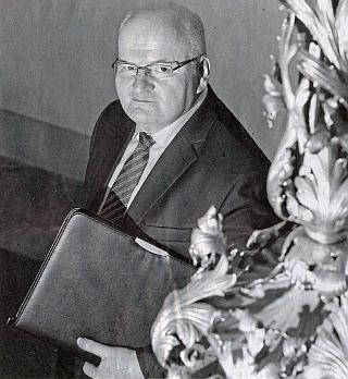 Jako ministr kutury České republiky v roce 2014