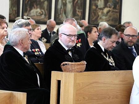 V srpnu 2020 při slavnostním uložení relikviáře císaře Karla I. v českobudějovické katedrále sv. Mikuláše