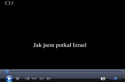 Dokumentární film Jak jsem potkal Izrael z roku 2012 osvětluje i kořeny jeho křesťanského názoru
