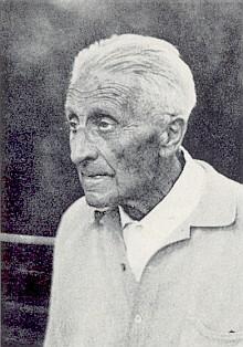 Foto a nekrolog z krajanského měsíčníku