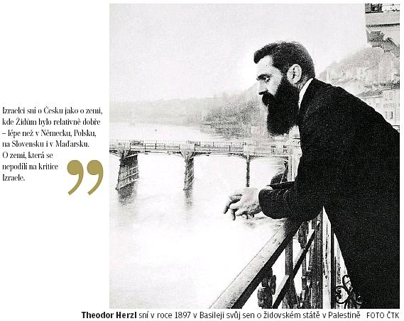 Z článku českého deníku k 70 letům státu Izrael a 100 letům Československé republiky