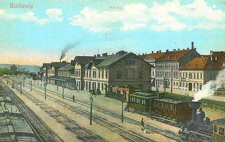 Staré nádraží v Českých Budějovicích