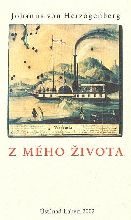 Obálka (2002) českého překladu knihy jejích vzpomínek, kterou vydalo město Ústí nad Labem