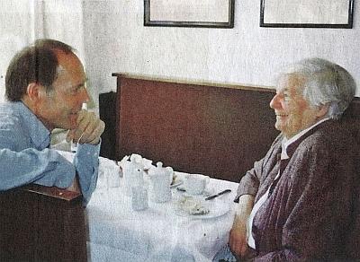S Peterem Becherem na snímku z roku 1985