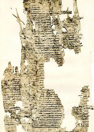 Papyrus z 2. nebo 3. století s Charitonovým románem