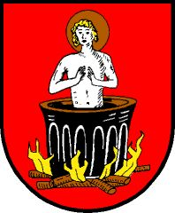 Znak jeho rodného městyse Sankt Veit on Pongau, známého i pobytem rakouského autora Thomase Bernharda, který napsal knihu o léčení své plicní tuberkulózy na zdejší klinice