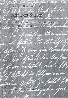 Obálka (2002) knihy vydané v Cornelia Goethe Akademia Verlag ve Frankfurtu nadMohanem