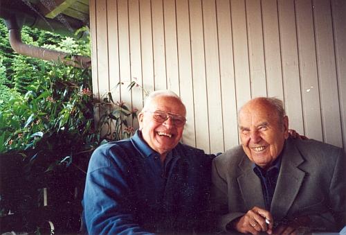 S Ing. Antonínem Nikendeyem v roce 2003