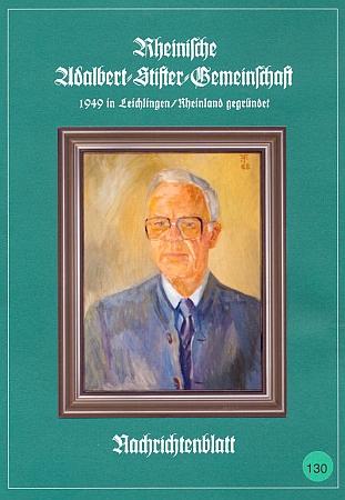 Olejomalba akademického malíře prof. Fritze Feichtingera (1927-2002) zroku 1988 zachycuje Josefa van Heukeluma v jeho 71 letech a zdobí tu obálku jubilejního 130. čísla zpravodaje Rheinische Adalbert-Stifter-Gemeinschaft, věnovaného památce zakladatele společnosti