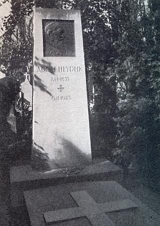 Hrob básníkův na pražském Vyšehradě