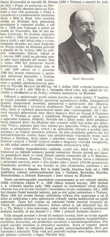 Jeho medailon v knize vydané v roce 1958 Československou akademií zemědělských věd