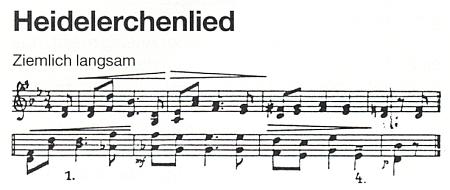 """Melodie jeho """"Zpěvu skřivánků"""""""