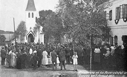 Hasičská slavnost v Pravětíně (1927)