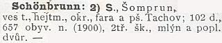 Takto Studánka opravdu figuruje i v Ottově slovníku naučném