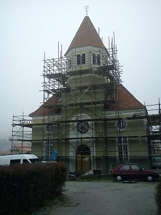 V roce 2012 se synagoga dočkala opravy...