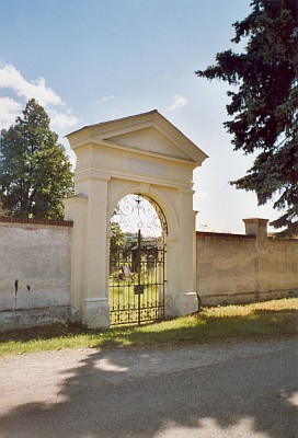 Židovský hřbitov v Českém Krumlově...
