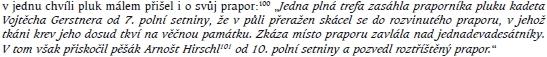 Na srbské frontě bojoval od počátku 1. světové války - takto zaznamenal plukovní pobočník jeho statečnost v bitvě o Velkou Glavu 19. srpna 1914