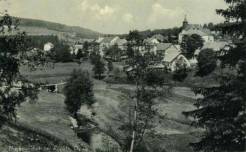 Pohorská Ves na další staré pohlednici