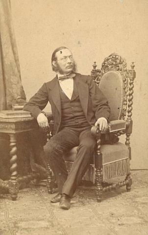 V roce 1868 na snímku téhož fotografa