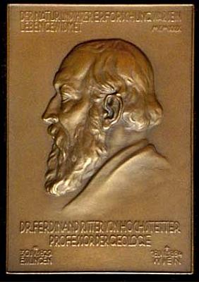 Portrétní plaketa ke stému výročí jeho narození