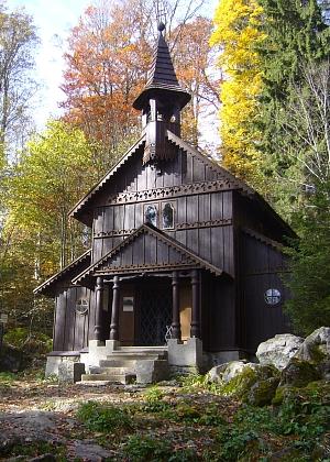 Současná podoba Stožecké kaple (2013)