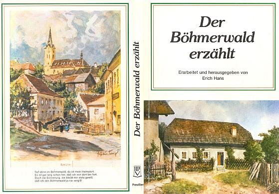 Obálka (1983) antologie nakladatelství Preussler v Norimberku, kde vyšly jeho verše z pozůstalosti, na přední straně pod titulem s malbou Wilhelma Fischera
