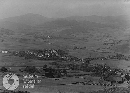 Záblatí na pohlednici Josefa Seidela