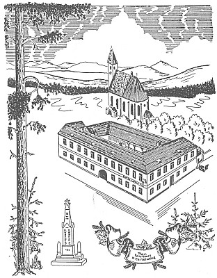 Pauli-Haus v jeho kresbě