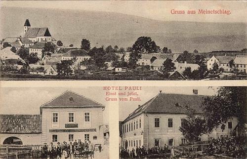 """""""Hotel Pauli"""" měl vlastní pohlednici"""