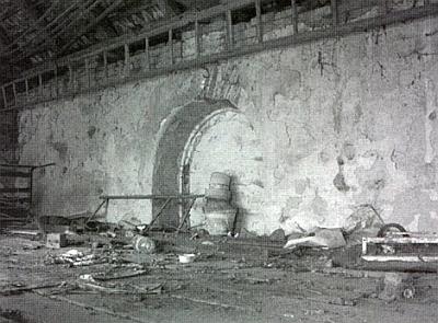 Torzo synagogy v Prostiboři a její interiér dnes