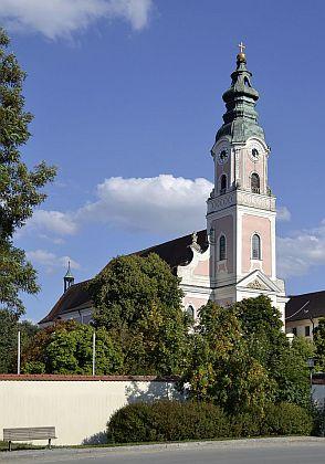 Klášterní kostel v Hofmannově rodném Aldersbachu je považován za jeden z nejkrásnějších mariánských kostelů v celém Bavorsku