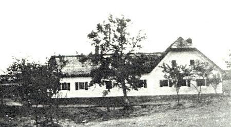 """Tak řečený """"Maurer-Haus"""" čp. 5 rodiny Johanna Weraniho a jeho ženy Marie"""