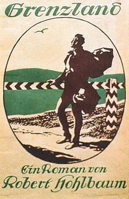 Obálka (1921) románu vydaného v Lipsku vnakladatelství L. Staackmann