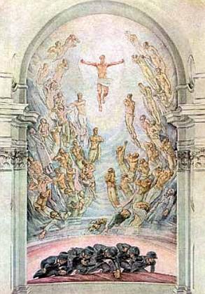Apoteóza vojáků, padlých v první světové válce s ústřední postavou Krista vítězného, kterou vytvořil pro chebskou Pamětní síň v bývalém kostele sv. Kláry Franz Gruß (1891-1979) a při jejímž odhalení 21. srpna roku 1937 měl Höller, umělcův přítel, slavnostní proslov (malba byla po roce 1945 zabílena)