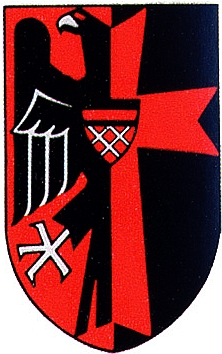 Černočervený znak sudetských Němců