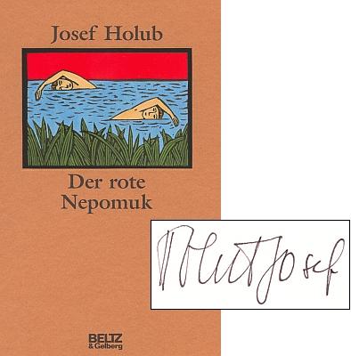 Obálka německého vydání v nakladatelství Beltz & Gelberg veWeinheimu (1993) s autorovým podpisem
