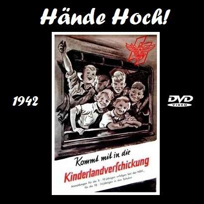 """Jako prvý tehdy navštívený film figuruje v jeho válečném chlapeckém deníku z roku 1943 snímek v režii Alfreda Weidenmanna """"Hände Hoch!"""" o posílání dětí na venkov coby jejich ochrana v čase náletů na města, organizovaném nacisty během intenzívního spojeneckého bombardování Německa - toto je nynější inzerát na video s jeho záznamem"""