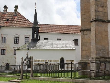 Kaple sv. Anny na nádvoří vyšebrodského kláštera