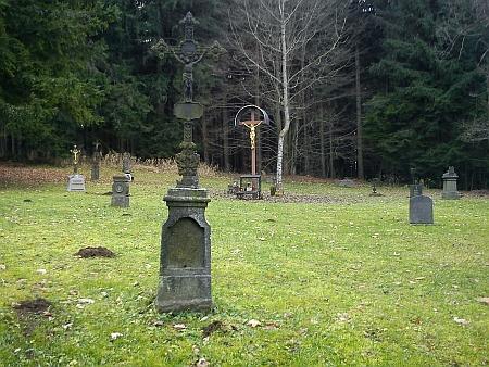 Nad všemi hroby... - obnovený hřbitov v Křišťanově (viz i Johanna Anderkaová a Karl Halletz)